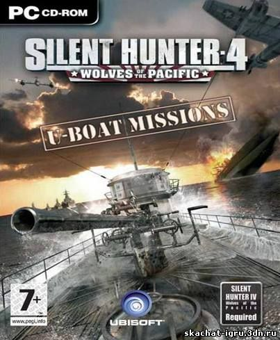 картинка игры Silent Hunter 4 Wolves of the Pacific U-Boat Missions